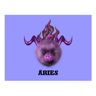 Aries Zodiac Cute Products Post Cards