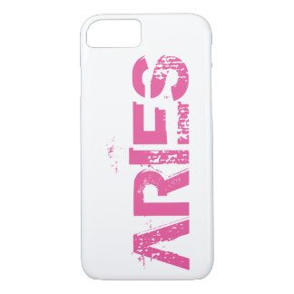 Aries Zodiac Horoscope Sign iPhone Case