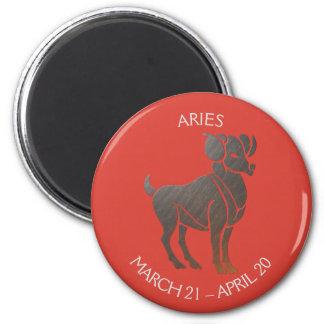 Aries Zodiac Magnet