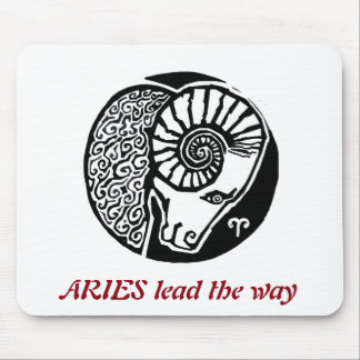 Aries - Zodiac Mousepad