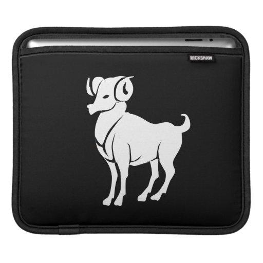 Aries Zodiac Pictogram iPad Sleeve