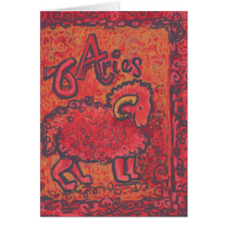 Aries, Zodiac Products Card