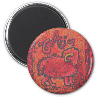 Aries Zodiac Products Refrigerator Magnets