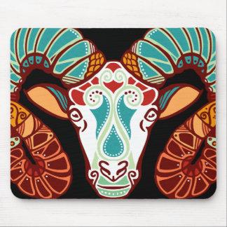 Aries Zodiac - Ram Mouse Pad