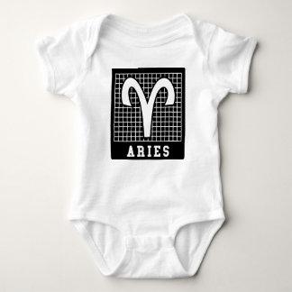 Aries Zodiac Sign Baby Jersey Bodysuit