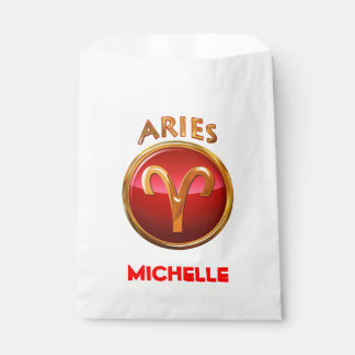 Aries Zodiac Sign Favour Bags
