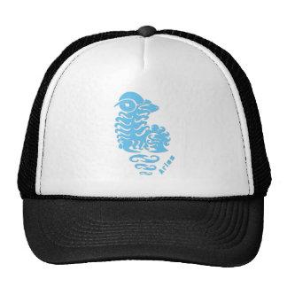 Aries Zodiac Sign Mesh Hat