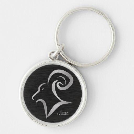 Aries Zodiac Sign Keychains