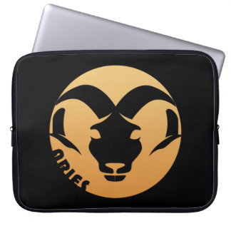 Aries Zodiac Sign Laptop Computer Sleeve