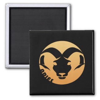 Aries Zodiac Sign Refrigerator Magnets