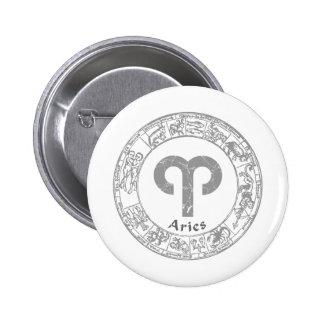 Aries Zodiac sign vintage Pins