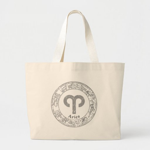 Aries Zodiac sign vintage Tote Bag