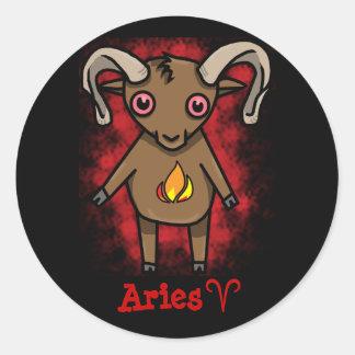 Aries Zodiac Sticker!