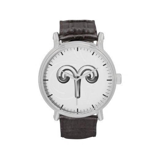 Aries Zodiac Symbol - Cool Astrology Sign Watches