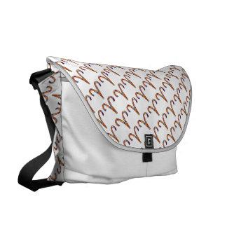 Aries Zodiac Symbol Element Courier Bag