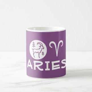 ARIES ZODIAC Symbol Coffee Mugs