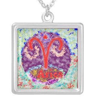 ARIES Zodiac Symbol Pendant