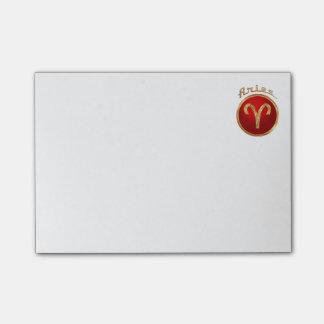 Aries Zodiac Symbol Post-it® Notes