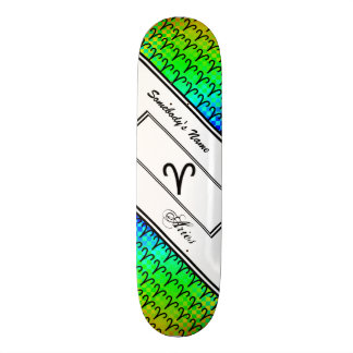 Aries Zodiac Symbol Standard Skate Board Deck