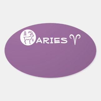 ARIES ZODIAC Symbol Sticker
