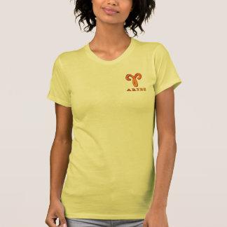 Aries Zodiac Symbol T-shirts