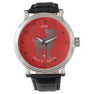 Aries Zodiac Watch