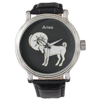 Aries Zodiac Wrist Watch