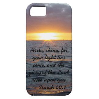 Arise Shine - Isaiah 60:1 iPhone 5 Covers