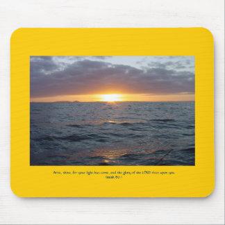 Arise Shine - Isaiah 60:1 Mouse Pad