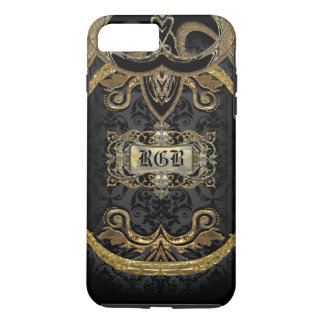 Aristocratic Lady Elegant Gothic Beauty Monogram iPhone 7 Plus Case