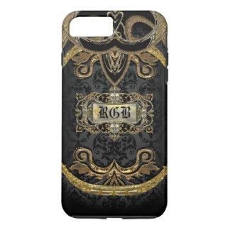 Aristocratic Lady Elegant Gothic Beauty Monogram iPhone 8 Plus/7 Plus Case