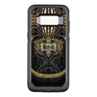 Aristocratic Lady Elegant Gothic Beauty Monogram OtterBox Commuter Samsung Galaxy S8 Case