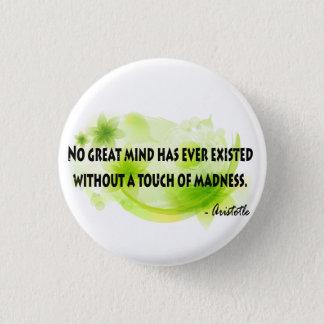 Aristotle 3 Cm Round Badge