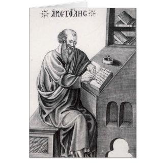 Aristotle Card