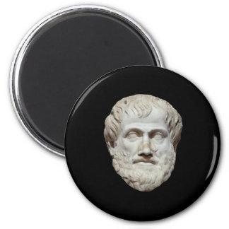 Aristotle Head Sculpture Magnets