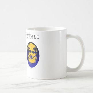 Aristotle on constitution coffee mug