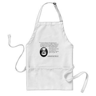 Aristotle on tyrants kitchen cooking apron