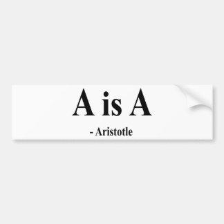 Aristotle Quote 2a Bumper Sticker