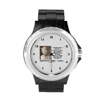 Aristotle Young People Condition Intoxication Watches