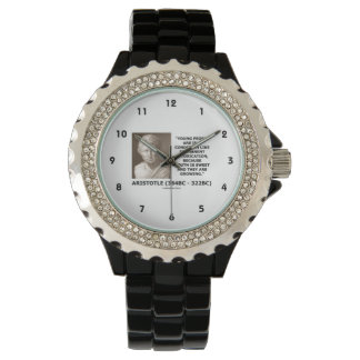 Aristotle Young People Condition Intoxication Wristwatches