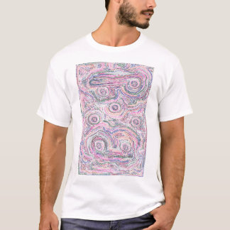 Arithmetic Mandara (Math Mandala) both sides T-Shirt