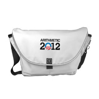 ARITHMETIC WITH OBAMA.png Messenger Bag