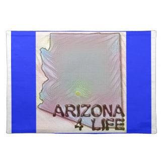 """Arizona 4 Life"" State Map Pride Design Placemat"