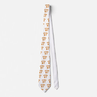 Arizona 67 Birthday Designs Tie