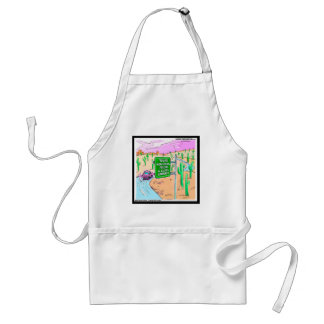 Arizona: A Gated Community Funny Gifts & Tees Standard Apron