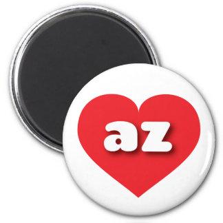 Arizona az red heart fridge magnets