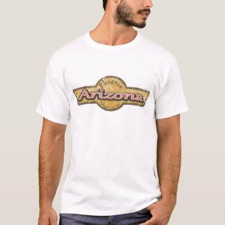Arizona Banner Grunge Logo T-Shirt