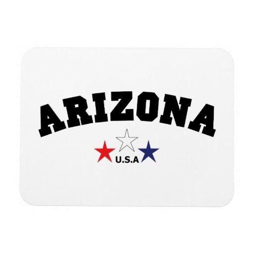 Arizona Block Rectangle Magnets