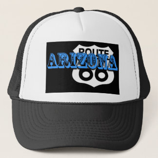 Arizona blue route 66 Customize it! Trucker Hat