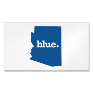 ARIZONA BLUE STATE MAGNETIC BUSINESS CARDS